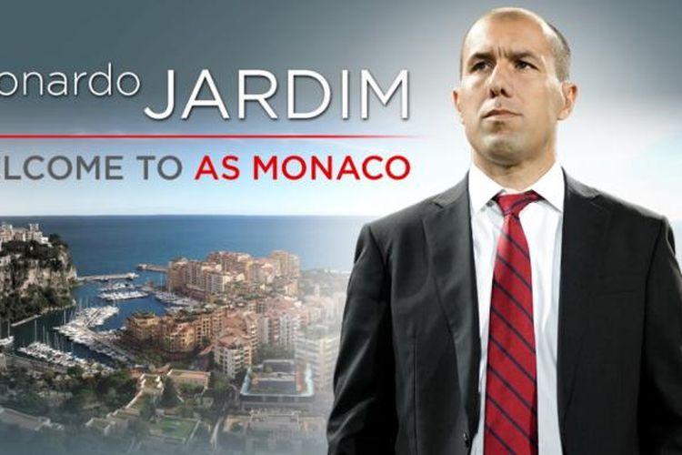 Pelatih anyar AS Monaco, Leonardo Jardim.