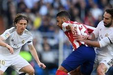Real Madrid Vs Atletico Madrid Masih Tanpa Gol pada Babak Pertama