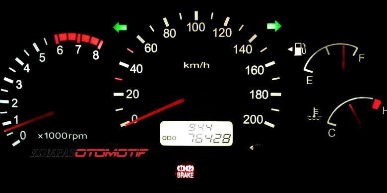 Odometer dengan km asli atau sudah diputar mundur bisa dicek dengan cara khusus.