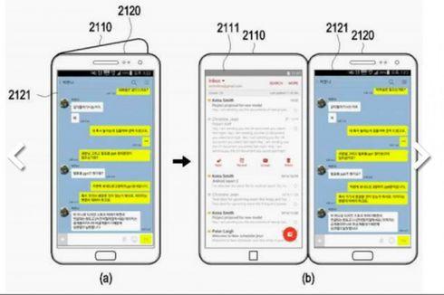 Ini Bocoran Tampilan Ponsel Lipat Samsung Galaxy X