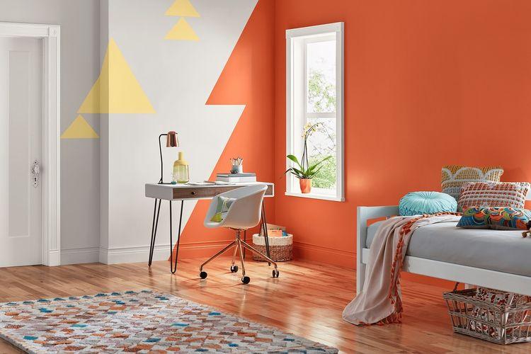 7 Cara Menyegarkan Interior Rumah Anda Dengan Warna Oranye Halaman All Kompas Com