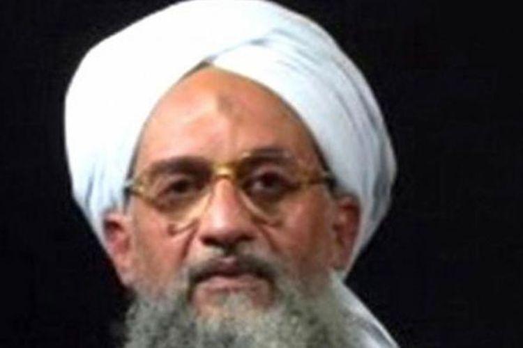 Pemimpin Al Qaeda, Ayman Al Zawahiri.