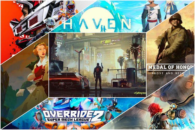 Ilustrasi daftar game yang dirilis di bulan Desember 2020.