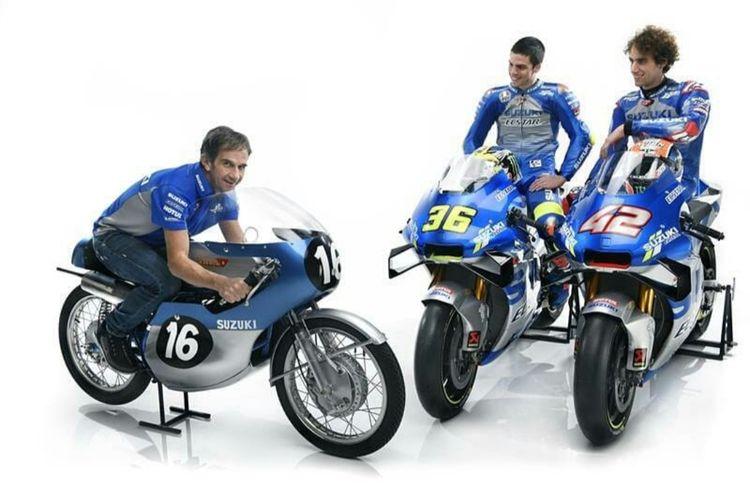 Tim balap Suzuki Ecstar MotoGP 2020.