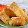 Resep Roti Goreng Keju Leleh, Sarapan Cepat dan Enak
