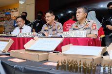 Polisi Ungkap Perdagangan Senpi dan Amunisi dari Sulsel ke Jakarta