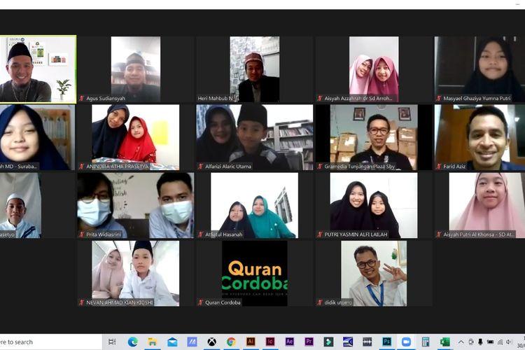 Gramedia mengadakan lomba membaca hafalan ayat (tahfidz) Al Quran Juz 30 tingkat SD yang digelar di area Jawa Timur , Bali dan Lombok.