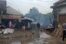 Hidran Baru Berfungsi Setelah Pemadam Datang, Pasar Srogo Brangsong Kendal Habis Terbakar