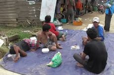 Bingung, Korban Banjir Bandang di Mamuju Sempat Tidur di Pinggir Jalan