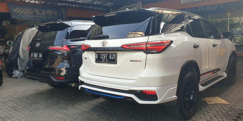 Dee Garage by UFO Motorsport menyediakan body kit Toyota Fortuner facelift asal Thailand.