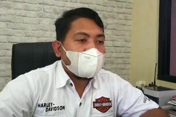 Kasat Reskrim Pokreskab Tasikmalaya AKP Hario Prasetyo Seno.