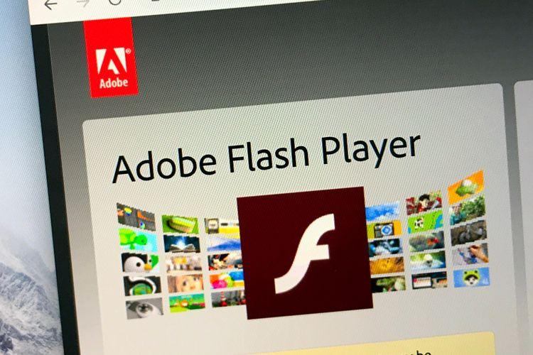 ilustrasi Adobe Flash Player