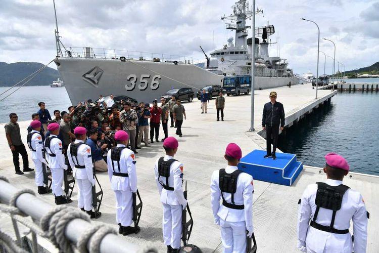 Presiden RI, Joko Widodo menegaskan bahwa kedaulatan tidak bisa lagi ditawar-tawar. Seperti Natuna, merupakan wilayah Indonesia.