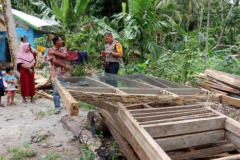 Rumahnya Digusur, Janda Miskin 11 Anak Kini Tinggal di Tenda Darurat