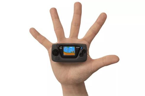 Sega Rilis Ulang Konsol Mungil Game Gear Micro