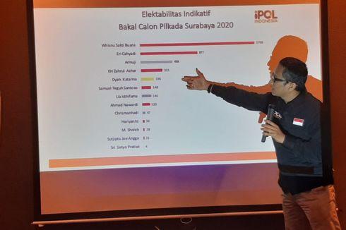 Risma dan Wisnu Sakti Buana Jadi Sorotan di Medsos untuk Pilkada Surabaya