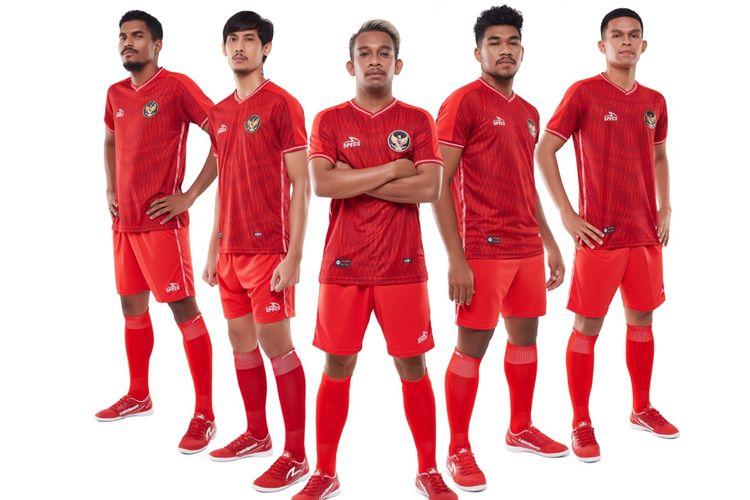 SPECS resmi meluncurkan official jersey home untuk tim nasional Futsal Indonesia.