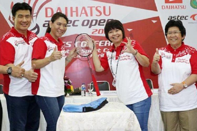Kejuaraan bulu tangkis berskala nasional, Daihatsu Astec Open 2016 resmi dibuka, Senin (18/4), di Daihatsu Sport Center, Jakarta dan berlangsung 18 April-15 Oktober.