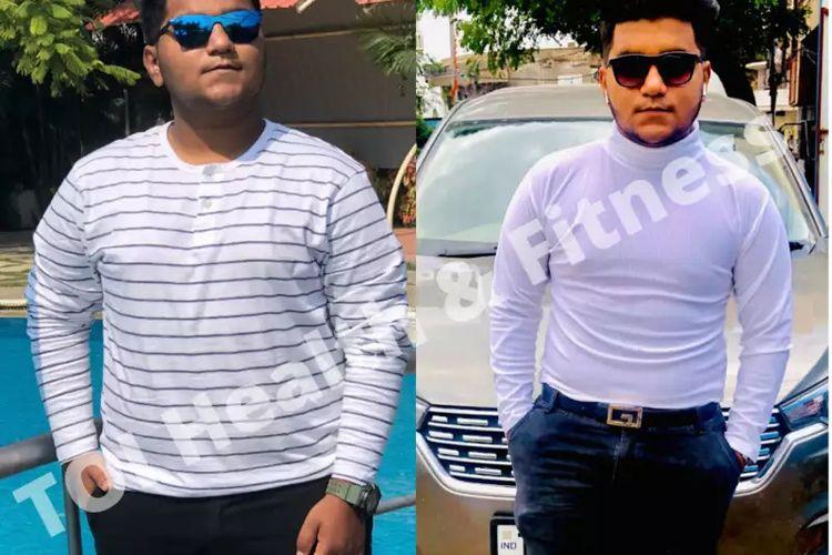 Transformasi berat badan Prince Areeb