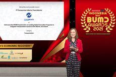 Ciptakan Inovasi Layanan Digital Terintegrasi, Transjakarta Raih Best BUMD 2021