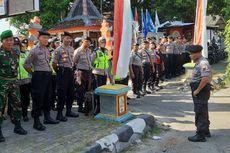 Antisipasi Pergerakan Massa, TNI-Polri Perketat Penjagaan Kantor KPU dan Bawaslu