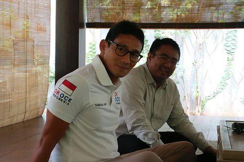 Sandiaga Kurang Sreg jika Semua Parpol Bergabung ke Koalisi Jokowi
