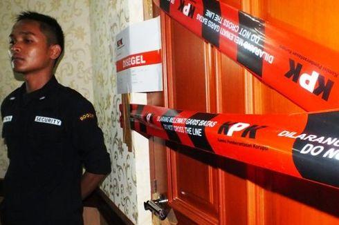 KPK Segel Ruang Kerja dan Ruang Sekretaris Bupati Bogor