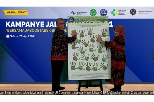 Tahun Ketiga Kampanye Jalan Hijau, BPTJ Ajak Masyarakat Pakai Angkutan Umum Massal dan NMT