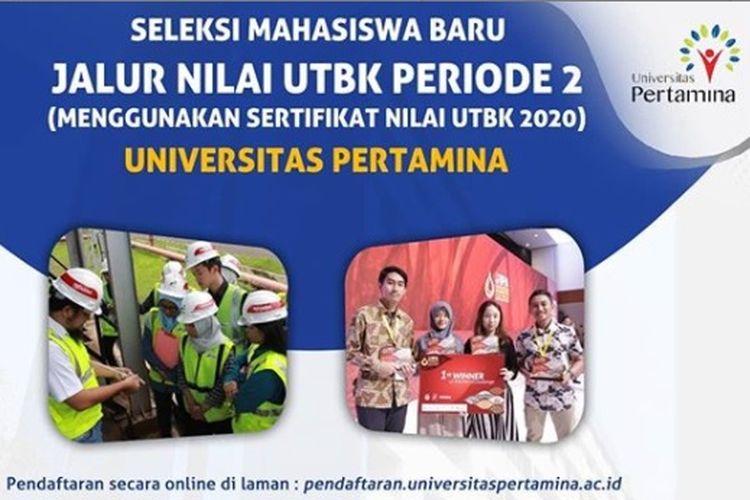 Universitas Pertamina Buka Pendaftaran S1 Jalur Nilai UTBK
