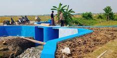 Berkat Embung, Produksi Petani di Rengasdengklok  Meningkat