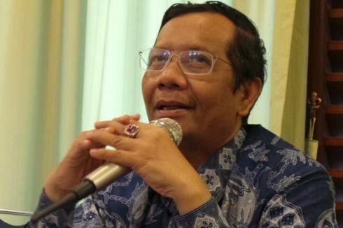 Mahfud MD Ragukan PDI-P Capreskan Jokowi