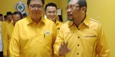 Pengurus DPD Golkar Jatim Solid Dukung Airlangga Hartarto