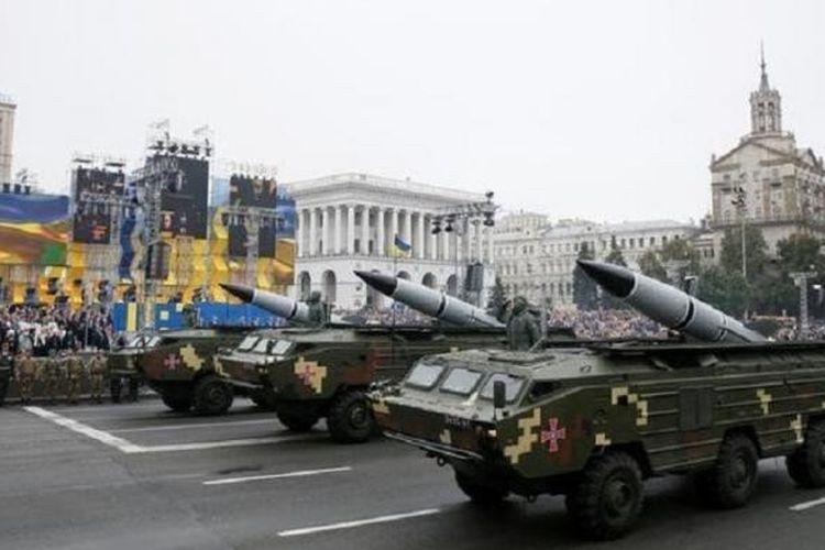 Ukraina bersiap melakukan uji rudalnya di dekat Crimea, dan hal itu membuat Rusia marah. Foto diambil pada Rabu (30/11/2016).