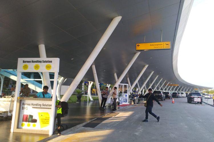 Bandara APT Pranoto Samarinda Kalimantan Timur, Jumat (8/11/2019).