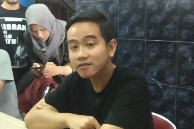 Putra sulung Presiden Jokowi yang juga bakal calon Wali Kota Solo, Gibran Rakabuming Raka.