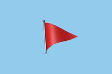 Arti Emoji Bendera Merah yang Ramai di Twitter