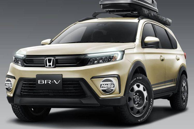 zModifikasi digital All New Honda BR-V