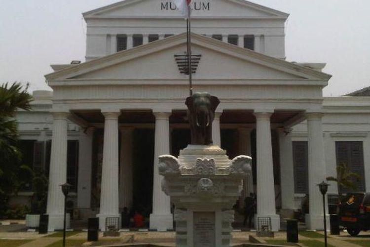 Museum Nasional atau lebih dikenal dengan Museum Gajah di Jalan Medan Merdeka Barat, Jakarta Pusat.
