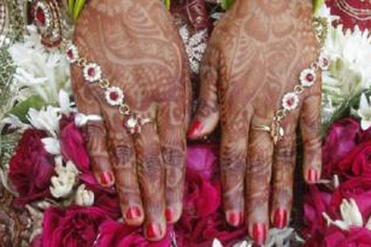 Data resmi tingkat perceraian tidak tersedia di India, tetapi para ahli mengatakan bahwa sekitar 13 dari 1.000 pernikahan berakhir dengan perceraian.
