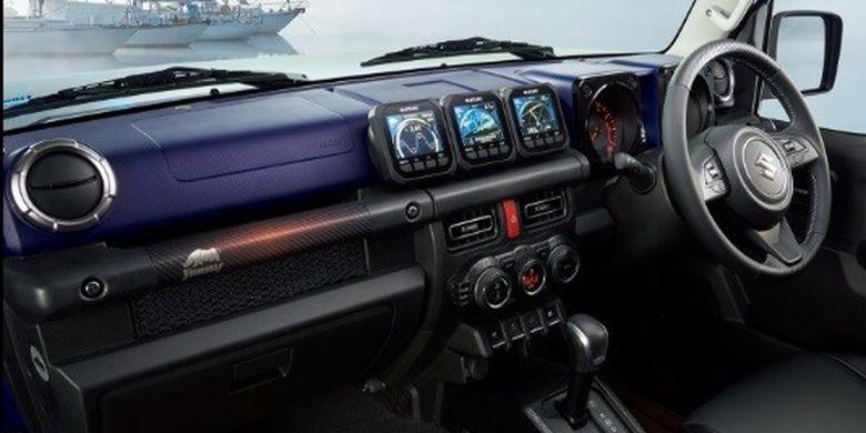 Tampilan interior Suzuki Jimny Marine Style di Tokyo Auto Salon 2020