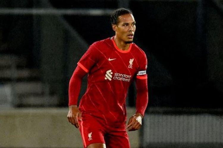 Bek Liverpool Virgil van Dijk.