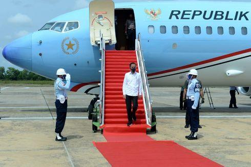Jokowi ke Kalteng Saat Ada Demonstrasi di Istana, Ini Agendanya