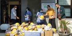 Atasi Corona, BPJS Salurkan APD untuk Rumah Sakit Rujukan di Tangerang