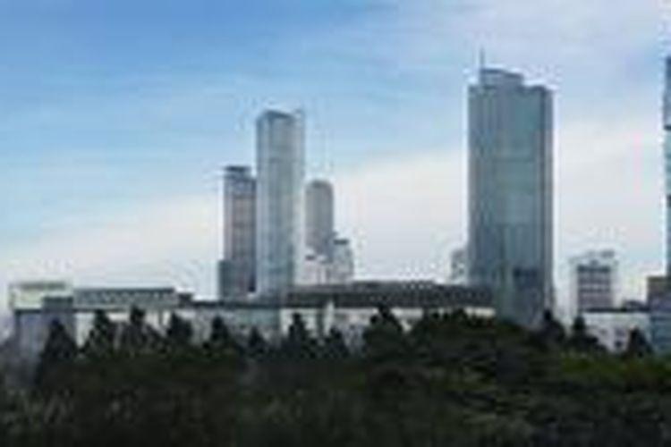 Thamrin Nine bakal memiliki menara tertinggi di Jakarta hingga 2016 atau sebelum disalip Signature Tower.
