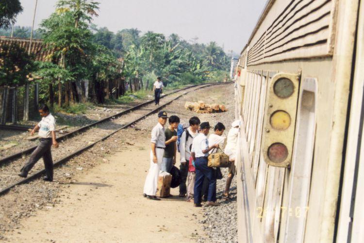 Ilustrasi: kereta api