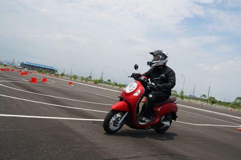 Jajal Performa All New Honda Scoopy di Trek Safety Riding AHM