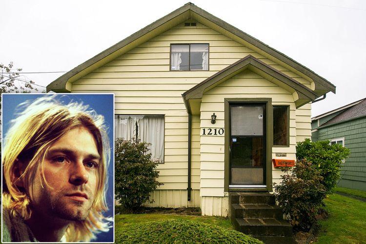 Rumah masa kecil Kurt Cobain.
