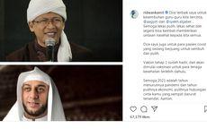 Aa Gym dan Syekh Ali Jaber Positif Covid-19, Ridwan Kamil Beri Dukungan dan Doa