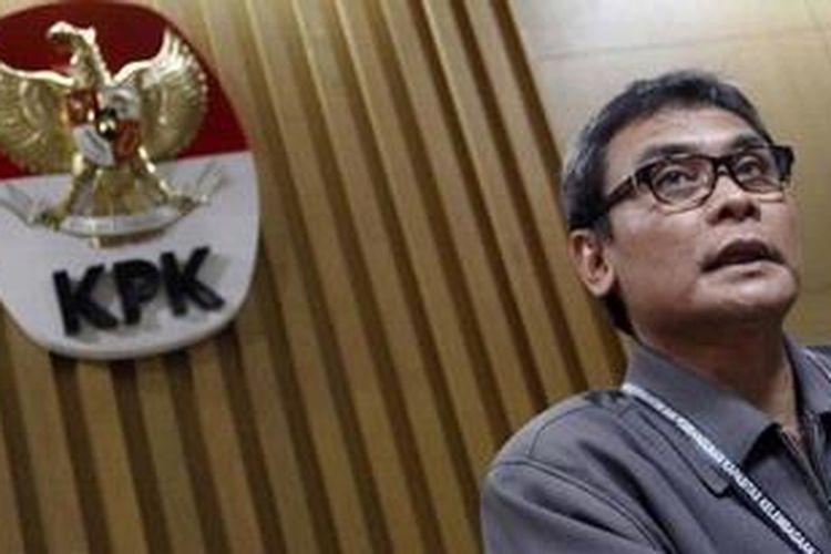 Juru Bicara Komisi Pemberantasan Korupsi (KPK) Johan Budi.