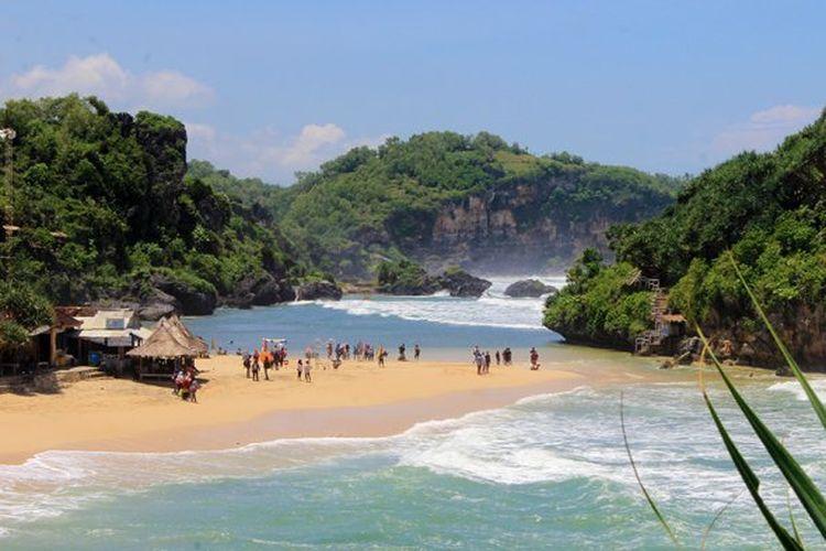 24 Jam Di Gunungkidul Yogyakarta Wisata Ke 3 Pantai Dan 1 Bukit Halaman All Kompas Com